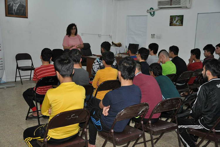 Seminar for youth prisoners